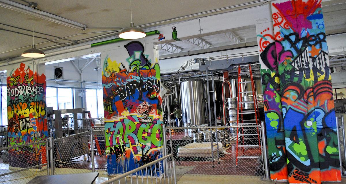 Fargo Brewing Company Mural