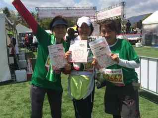 実践会の仲間と10キロマラソン!