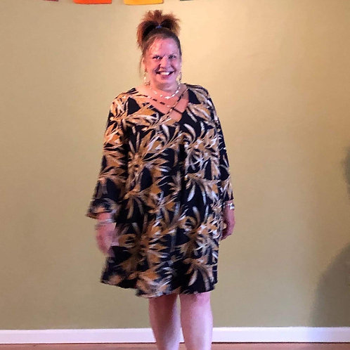 Plus Size Swing Dress