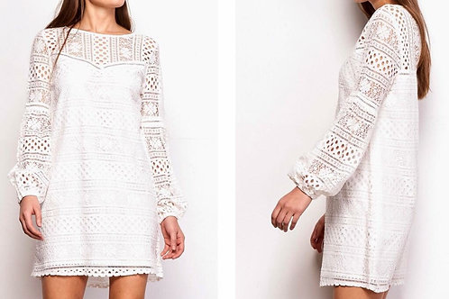 Currie Off-White Dress