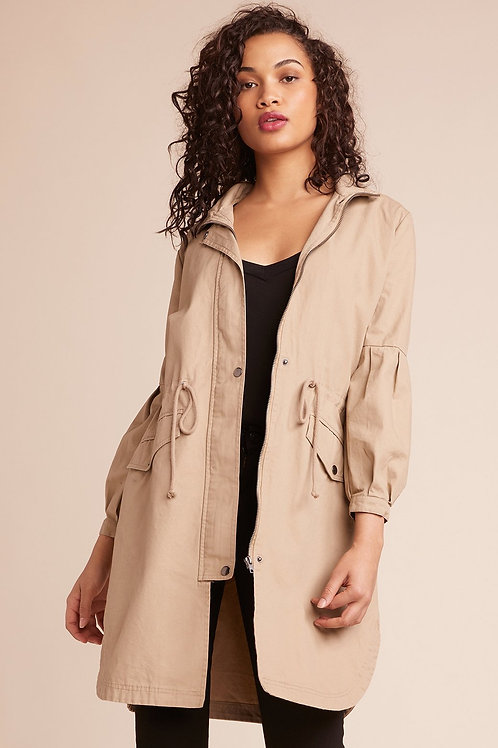 Camel 3/4 jacket