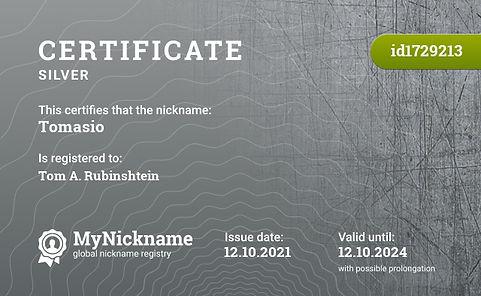 Tomasio Certificate.jfif