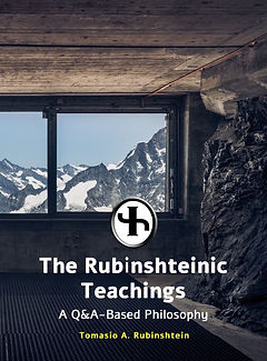 """Tomasio Rubinshtein's sixth book and second book to be written in English, """"The Rubinshteinic Teachngs"""". One of Rubinshtein's biggest books, it is a sequel to the previous book regarding questons asked worldwie."""