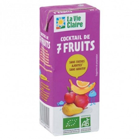 Mini tetra 7 fruits 20cl