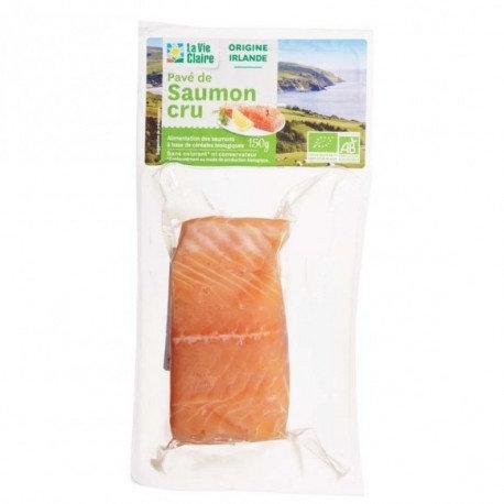 Pavé de Saumon bio 150gr