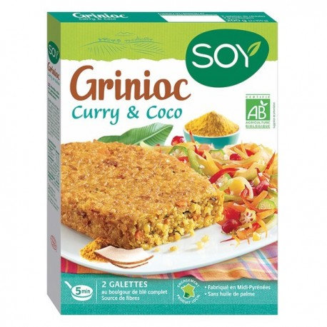 Galette curry et coco 2X90g