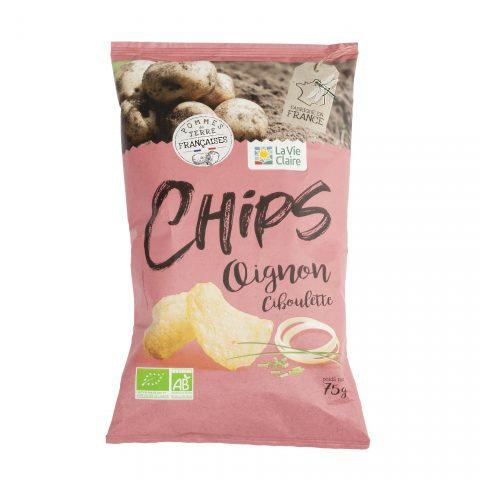 Chips oignons ciboulette