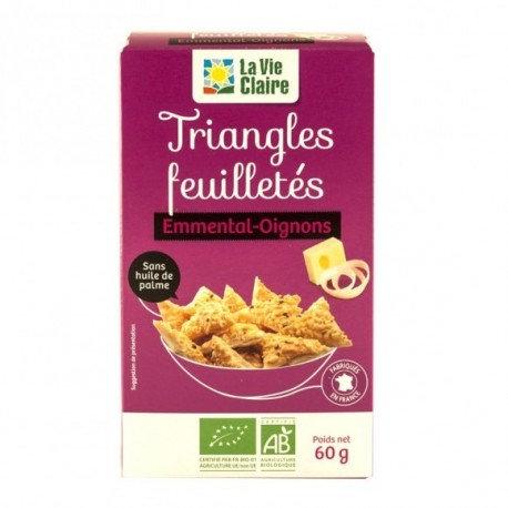 Triangles feuilletés Emmental-Oignons