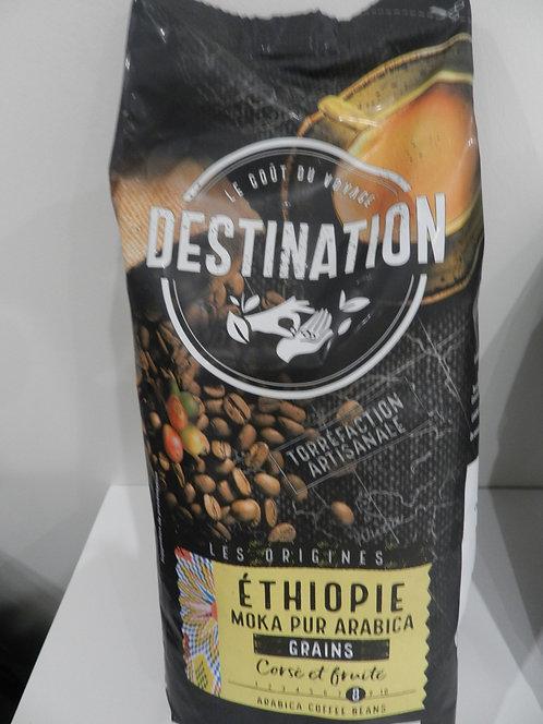 Café Moka Ethiope grain 250 g