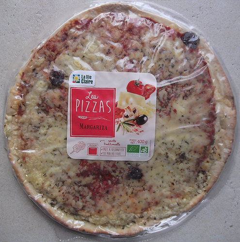 Pizza margarita 400g