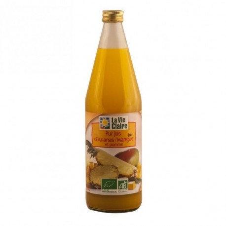 Jus pomme ananas mangue
