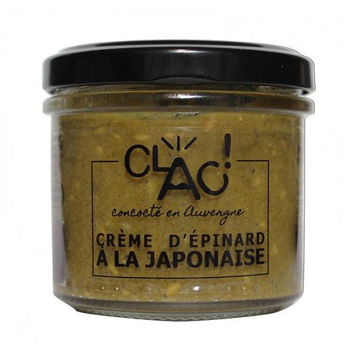Crème épinards à la Japonaise