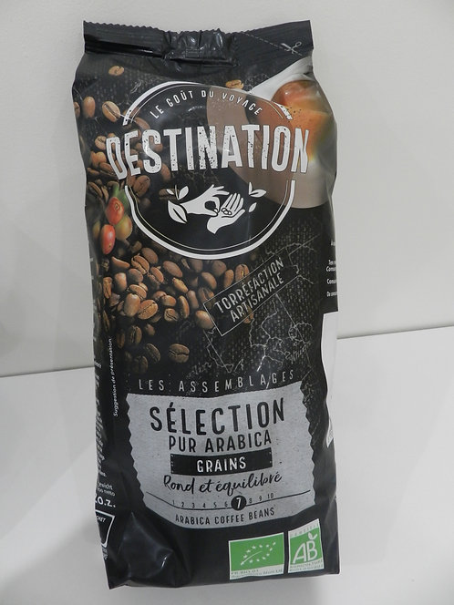 Café sélection 100% arabica grain 1KG