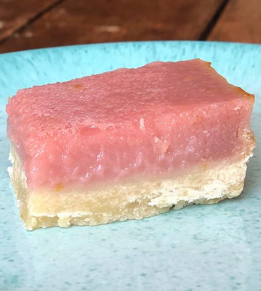 Pink Raspberry Lemonade Bars