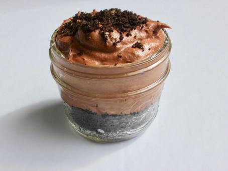 Chocolate Cheesecake Pots