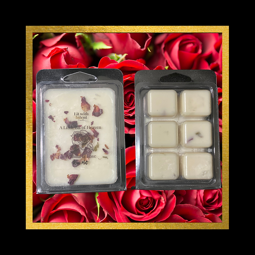 Vanilla Rose Wax Melt Home Decor Gift Idea Soy Wax Candles Essential Oils