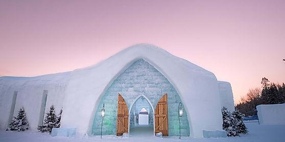 Ice Hotel Visit
