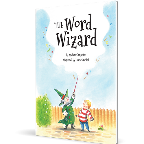 The Word Wizard: Paperback Book