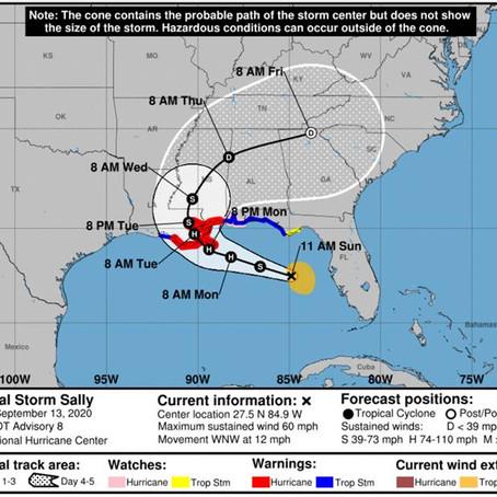 Tropical Storm Sally Update - September 13, 2020