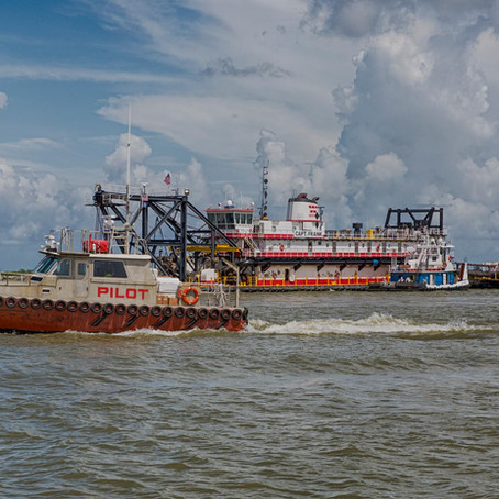 Deepening of Mississippi River Ship Chanel Construction Begins