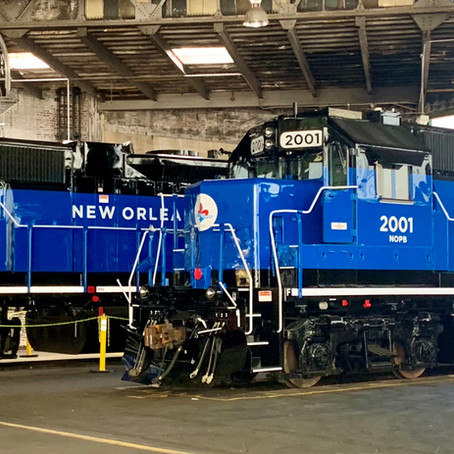 New Orleans Public Belt Railroad Improves Efficiency with Lower-Emission Locomotives