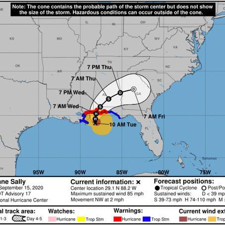 Tropical Storm Sally Update - September 15, 2020