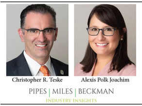 Chris Teske & Alexis Joachim's Article Published in Fall Edition of DRI's In-House Defense Quarterly