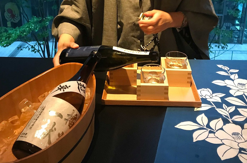 Sake in Tsuruoka City
