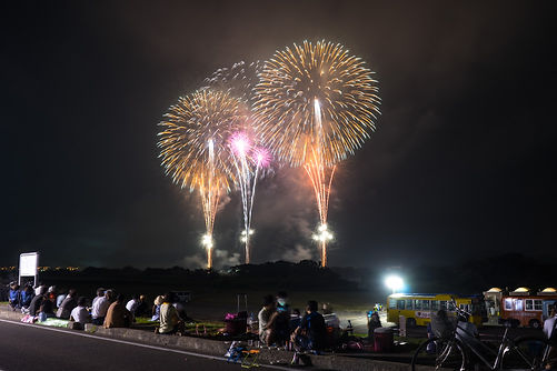 sakata firework festival, sakata, yamagata, fireworks