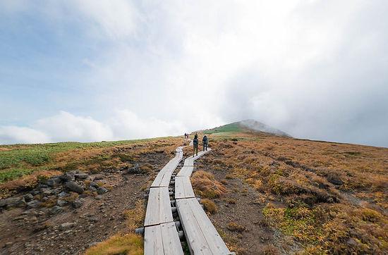 Mt. Gassan Dewa Sanzan Mt. Yudono Mt. Haguro Shugendo Yamabushi