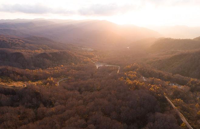 The top of Mt. Yudono.