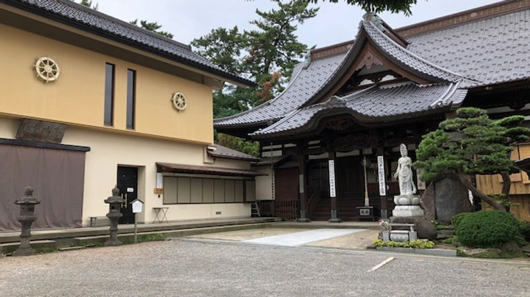 Kaikoji Temple in Sakata City