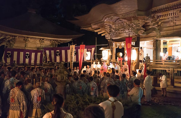 The Hassaku Festival on Mt. Haguro at Prince Hachiko Shrine