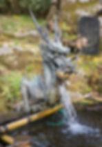 Mt. Yudono Shrine entrance basin