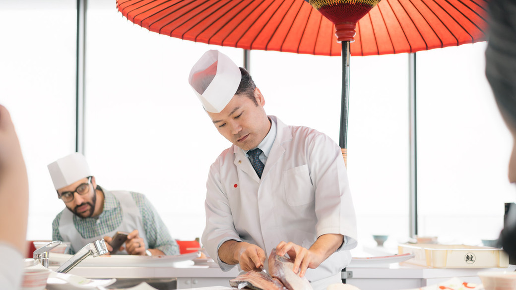 Sashimi Cutting Techniques