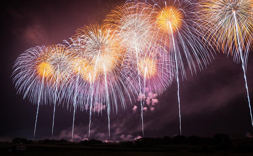 Sakata firework festival, fireworks, summer, event