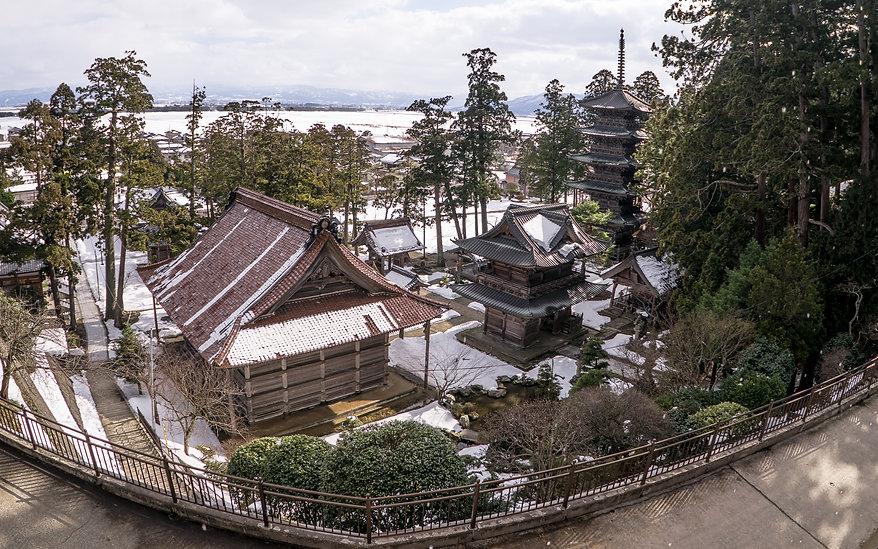 Zenpoji Temple in Tsuruoka City.