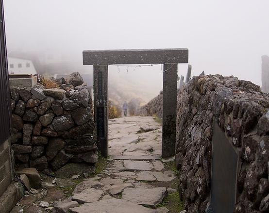 Mt. Gassan Shrine Dewa Sanzan Mt. Haguro Mt. Yudono Yamabushi Haguro Shugendo