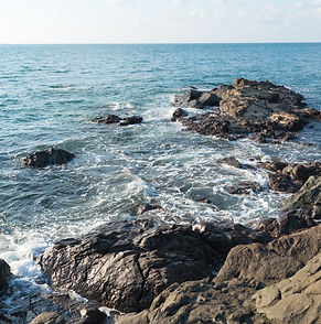 Yuza coastline of Shonai