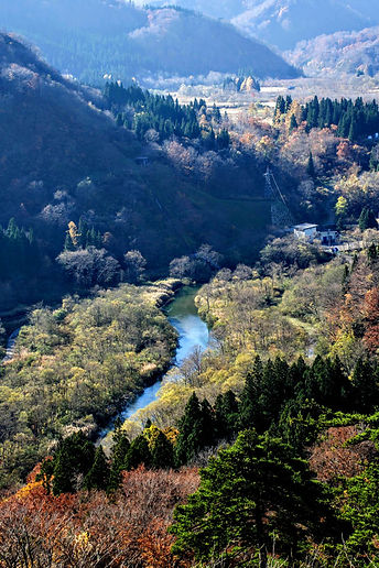 Hijiori Onsen in Autumn/ Fall