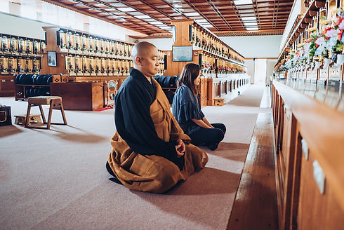 Zen meditatio in Sakata City