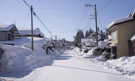 Mt. Haguro, Toge, winter Haguro Shugendo Yamabushi Dewa Sanzan