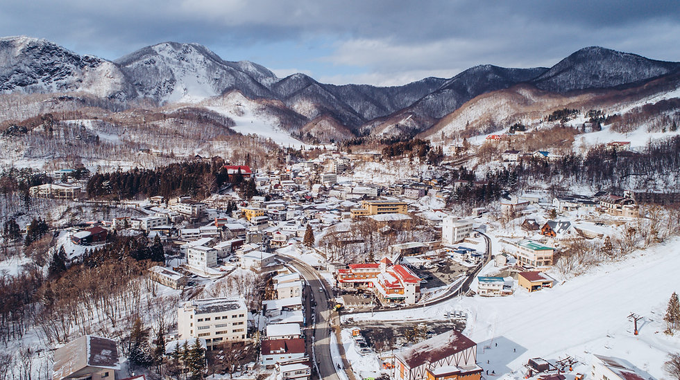 Zao Onsen in the Winter