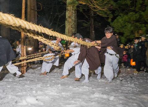 Shoresai Festival Mt Haguro Shugedo Yamabushi Dewa Sanzan
