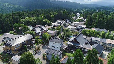 Shukubo Pilgrim Lodges in Toge on Mt. Haguro