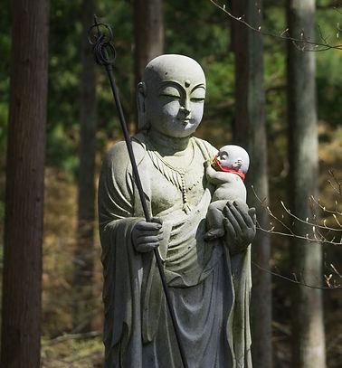 Buddhist statue at Gyokusenji Tsuruoka