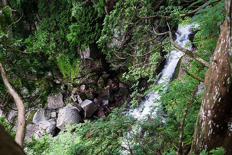 Ichi-no-taki on Mt. Chokai