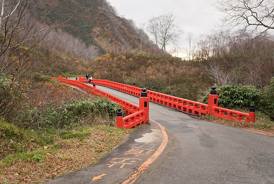 Mt. Yudono Shrine Path Dewa Sanan Mt. Gassan Mt. Haguro Yamabushi