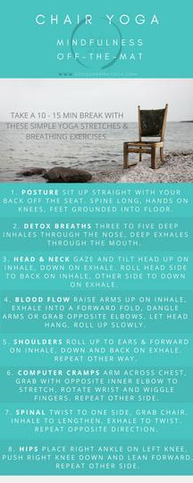 Chair Yoga Infographic
