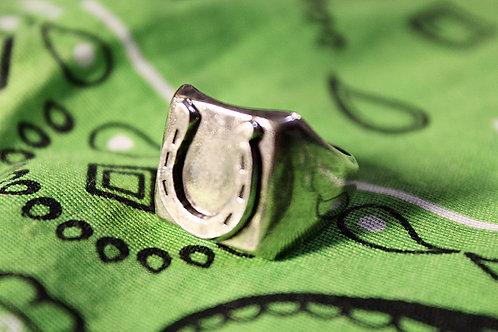 Lucky Horseshoe Ring Size 10 3/4